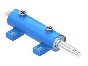 Piston hydraulic cylinder type UCD7