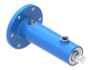 Piston hydraulic cylinder type UCJ6